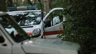 """Шофьор не спря на знак """"Стоп"""" и предизвика катастрофа"""