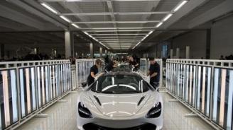 Виждали ли сте как се сглобяват колите на Макларън? (видео)