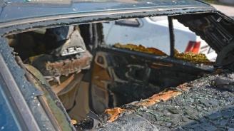 10 автомобила изгоряха на охраняем паркинг в Люлин (обновена)