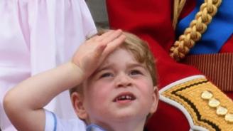 Днес принц Джордж става на 5 (видео)