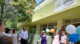 Цветан Цветанов посети изцяло обновена с европейски средства детска градина в Казанлък (снимки)