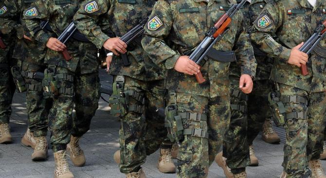 Военнослужещите от 35-ия контингент, които се завръщат от участие в