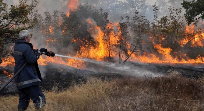 С настъпването на летните жеги опасността от възникване на пожари