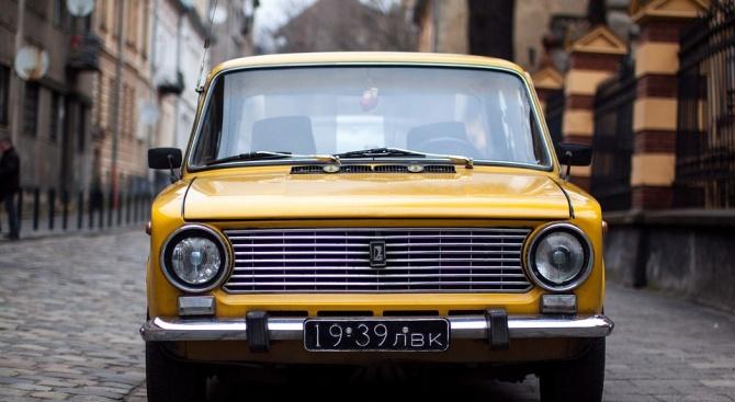 Старите коли с винетки в центъра на София