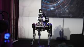 Руски учени разработват четириноги роботи (видео)