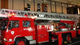 Пожар в новострояща се сграда в Токио остави четири трупа и десетки ранени (видео)