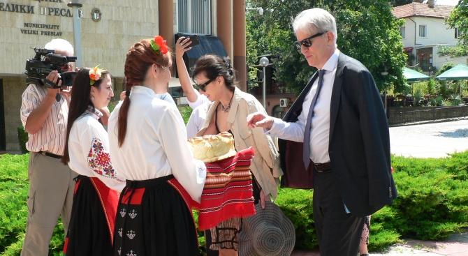 Днес гости на кмета на Община Велики Преслав Александър Горчев