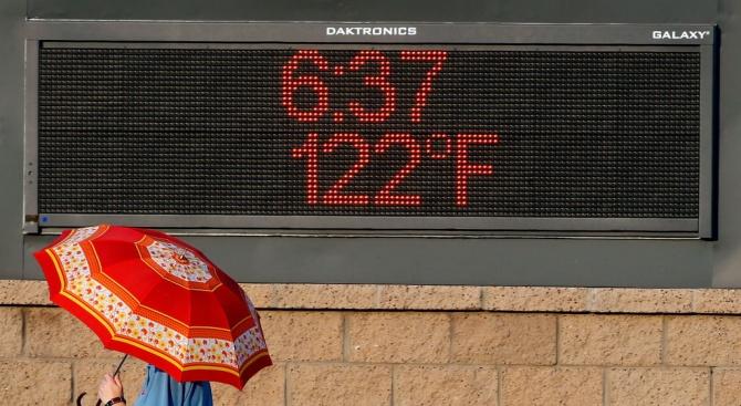 В Южна Европа са издадени предупреждения за силни горещини