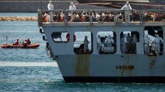 Италиански кораб върна мигранти в Либия, предизвиквайки скандал