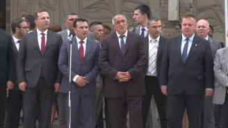 Борисов и Заев: Балканите не трябва да са барутен погреб, а мирен и проспериращ регион (обновена)