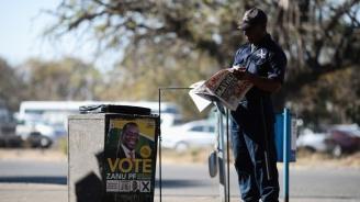 Кандидатът на управляващата партия печели изборите за президент на Зимбабве