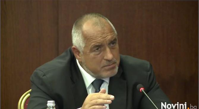 Борисов: В милиарди е разликата при успешната борба с контрабандата, няма да отстъпим