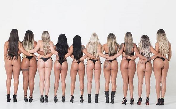"""Участичките в """"Мис Бум-бум 2018"""" разклатиха дупета по улиците на Сао Пауло (видео)"""