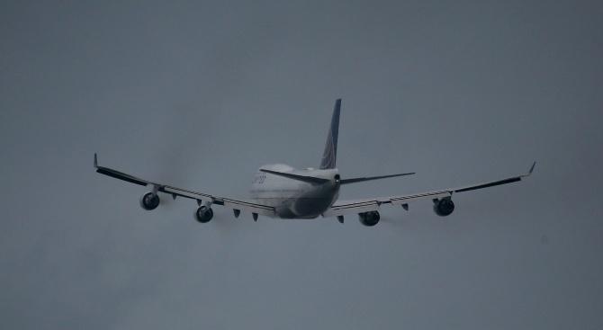 Военнотранспортен самолет на американските военновъздушни сили (ВВС) едва не се