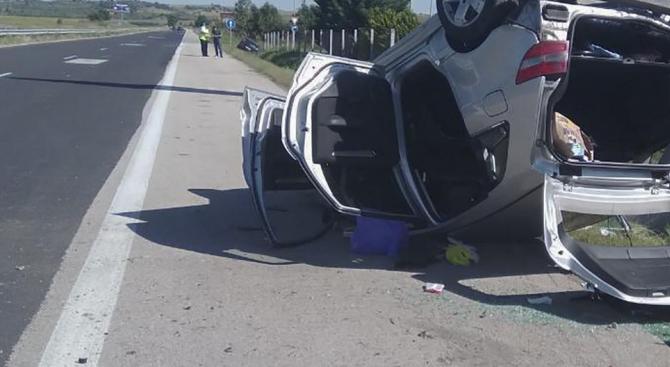 Тридесет и един души са ранени при 25 автомобилни катастрофи