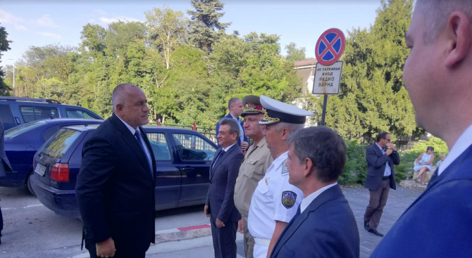 Борисов: Българският вариант за охрана на границата работи добре (снимки)