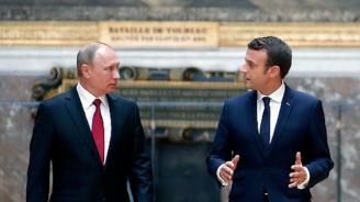 Макрон и Путин ще обсъдят ситуацията със задържания украински режисьор Олег Сенцов
