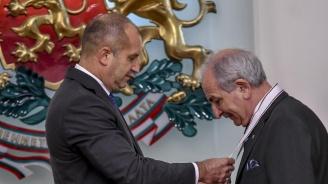 Румен Радев награди с орден посланика на Украйна (видео+снимки)