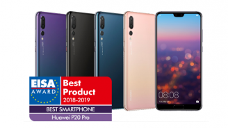 """Huawei P20 Pro печели приза на EISA """"Най-добър смартфон на годината"""""""
