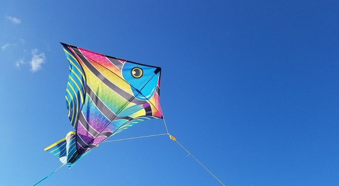 Фестивал на хвърчилата приканва всички, които търсят усещане за безграничност,