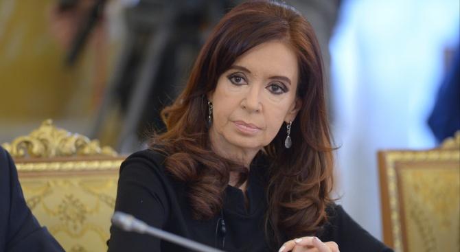 Бившата президентка на Аржентина Кристина Киршнер (2007-2015) се яви пред