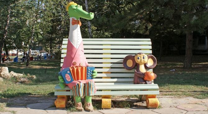 Писателят Едуард Успенски, създател на персонажи като Чебурашка и Крокодила