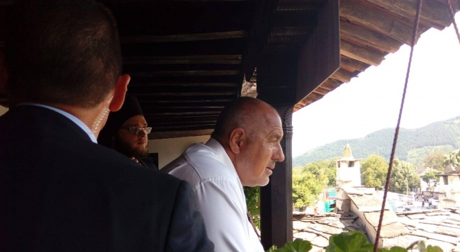 След редовното заседание на Министерски съвет премиерът Бойко Борисов посети