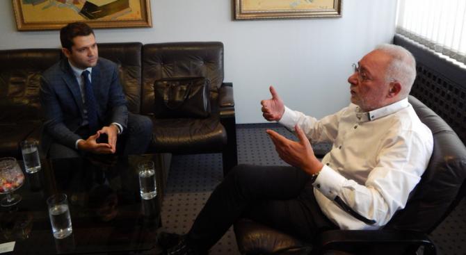 Шефът на БСК разговаря с бъдещия търговски представител на България в Ирак