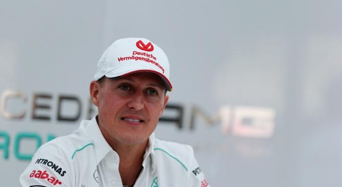 Германският състезател Михаел Шумахер вероятно ще се засели в Испания,