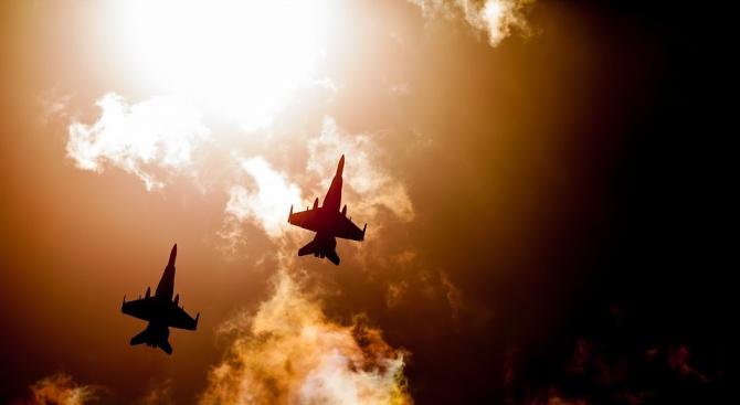 Британски изтребители са излетели под тревога от румънската военновъздушна база