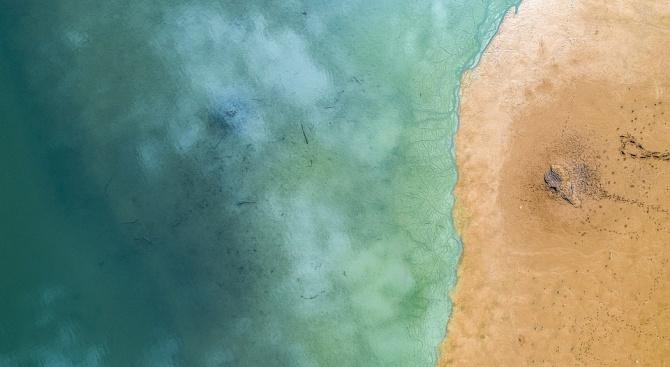 Мазутният разлив от потъналия преди век американски кораб е почти