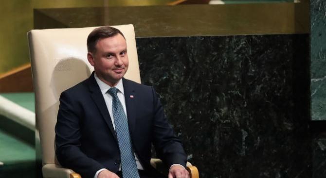 Полският президент Анджей Дуда заяви, че ще наложи вето на