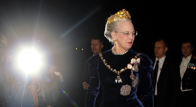 Датската кралица Магрете сподели, че кончината на съпруга й е