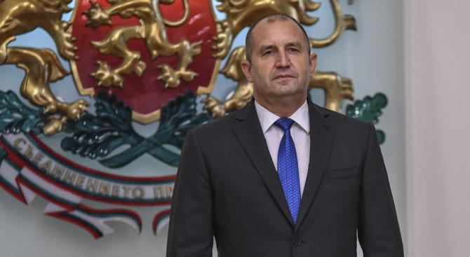 На 18 август, събота, от 20.30 часа президентът Румен Радев