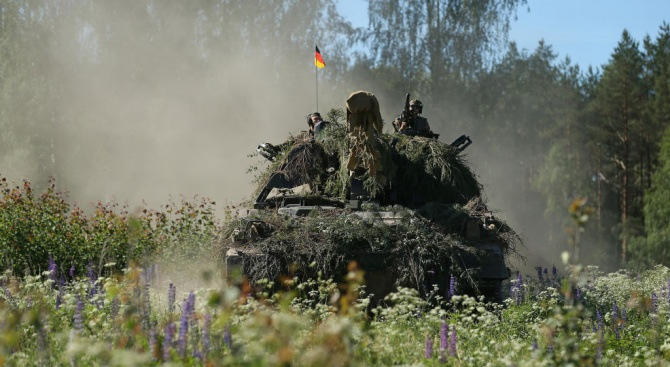 """Въоръжените сили на Германия ще участват в предстоящото учение """"Трайдънт"""