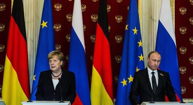Путин и Меркел се срещат днес