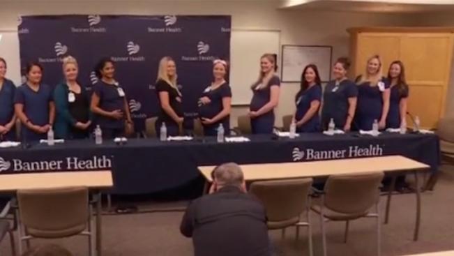 16 медицински сестри от болницата в Меса, в американския щат