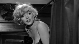 Откриха изчезнала гола сцена на Мерилин Монро