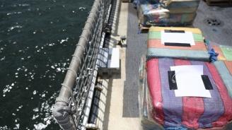 Бразилските власти заловиха 1,3 тона кокаин на борда на италиански кораб