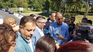 Цветанов: Президентът на БСП Румен Радев се заявява като политически опонент, а не като държавен глава (снимки)