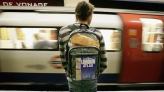 Скандал между мъж и жена в метрото прерасна в масов бой (видео)