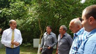 Цветан Цветанов се срещна с кметове на 15-те села в община Свищов