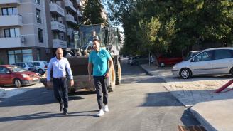 """Кметът на Пловдив инспектира район """"Тракия"""""""