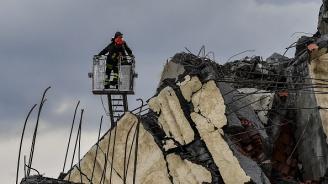 Италианската полиция се поправи: Загиналите при срутването на моста в Генуа са 38