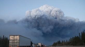 Горски пожари бушуват в Канада