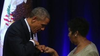 Обама отдаде почит на Арета Франклин