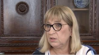 Цецка Цачева: Няма как да няма отговорни, когато България за няколко дни остане без Търговски регистър