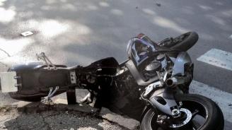 Моторист катастрофира тежко, в кома е и има опасност за живота му