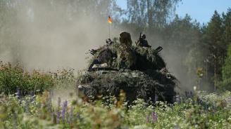 Германската армия ще участва с около 8000 войници и 100 танка в мащабни учения на НАТО през есента