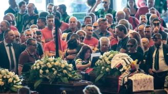 Започна траурната церемония в Генуа (снимки)